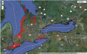 Ontario Windfarms