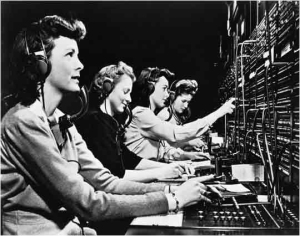 Tele Switchboard-Operators