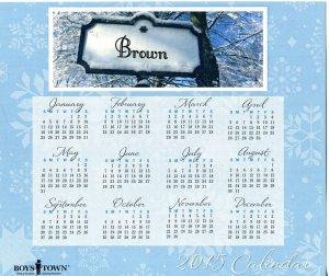 Boystown    028VGF Calendar