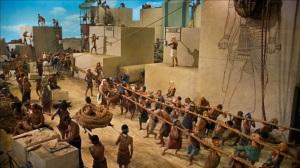 Slaves Pyramids