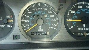 Blue at 330,000