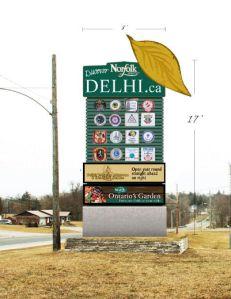 Delhi Sign