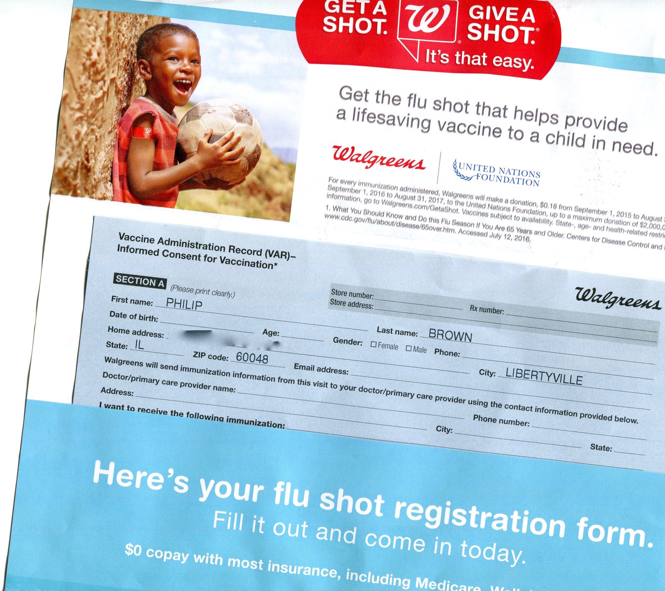 Walgreens Rolls Up Your Sleeve | Phil Brown